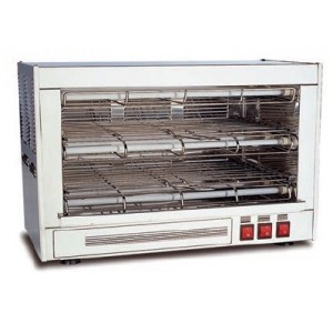 Tostador de pan eléctrico doble, T2C super power cuarzo 4050w.