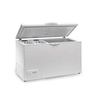 CONGELADOR TAPA EN ACERO INOX ABATIBLE EUROFRED HC460 INOX