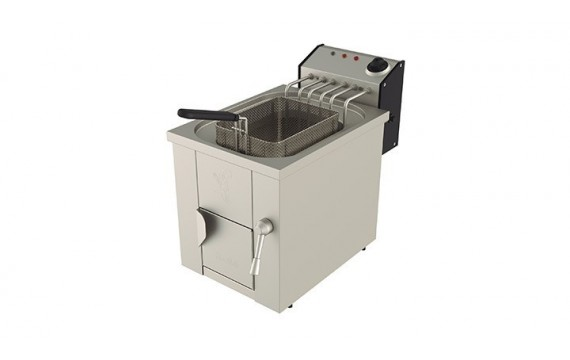 FREIDORA 15 L AGUA Y ACEITE ELECTRICA MOVILFRIT FH17