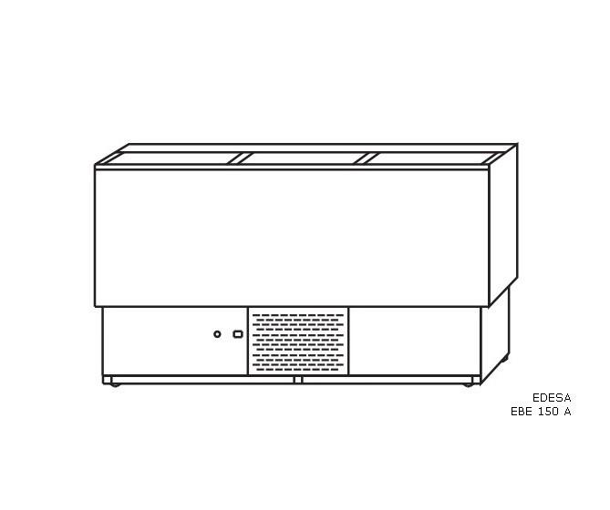 Enfriador de botellas. EBE-150-A.