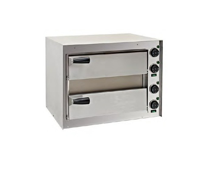 MINI HORNO DE PIZZA 2P DISTRIPLUS