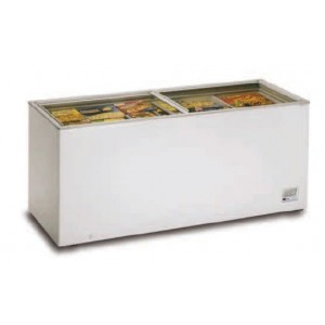 Congelador con tapa cristal 2000cm 700-C