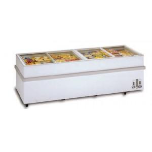 Congelador Glas-Top. Puertas cristal GTN-1500
