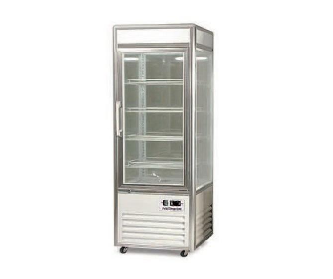 Expositor Refrigerado 4 caras cristal AEC-4