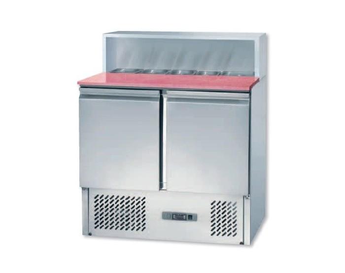 Mesa refrigerada para pizza, modelo MP 900.