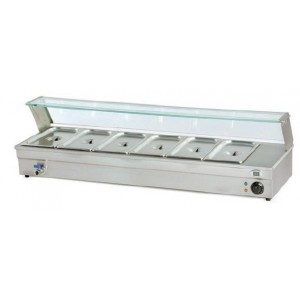 Calentador de tapas 4 bandejas, modelo CP4-Inox