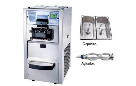 CONGELADOR TAPA EN ACERO INOXIDABLE EUROFRED HC370 INOX