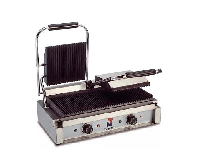 Grill eléctrico, G-2PL (placa inferior lisa)