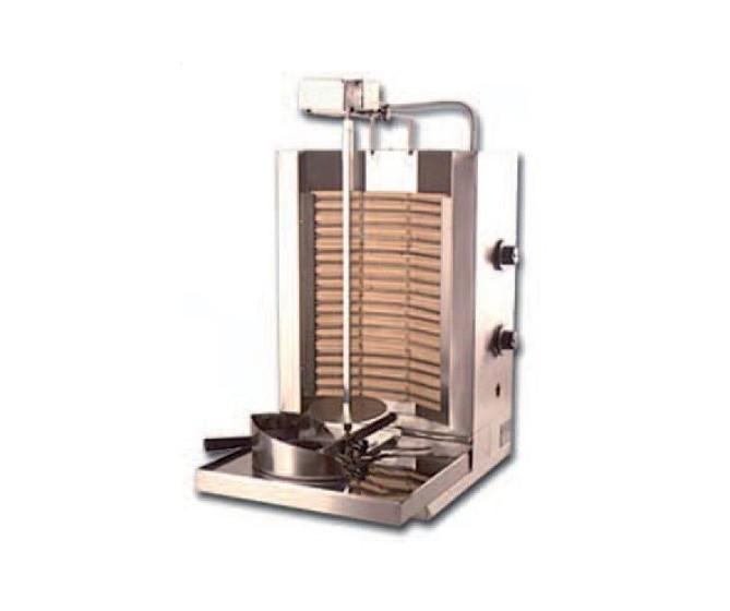 Asador de carne. Shawarma eléctrico, modelo K4-Elect