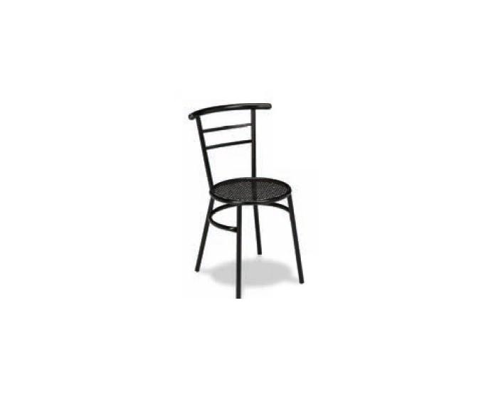 Silla M101 estructura acero plasticifado, asiento rejilla