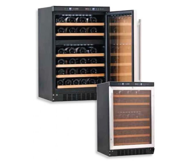 Expositor Refrigerado 4 caras cristal AEC-4 PLATA