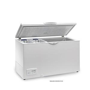 CONGELADOR TAPA ACERO INOX ABATIBLE EUROFRED HC240 INOX