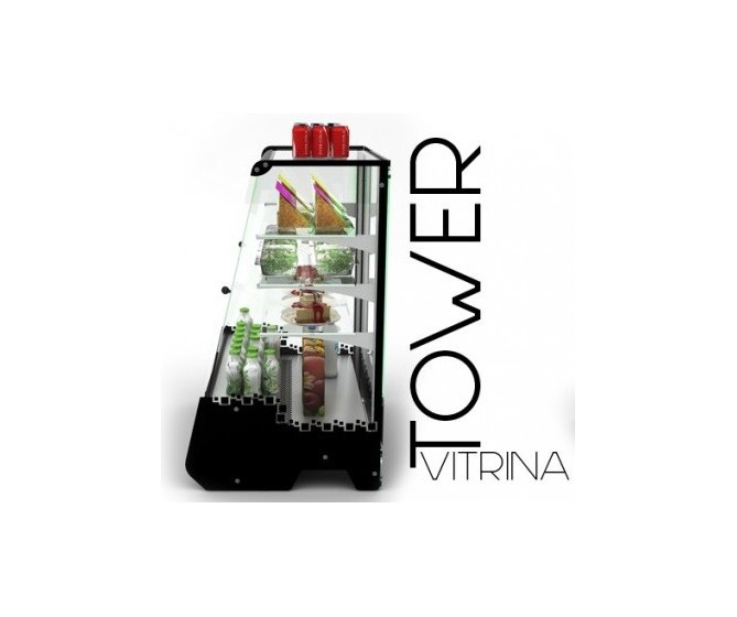 VITRINA EXPOSITORA REFRIGERADA SAYL TOWER